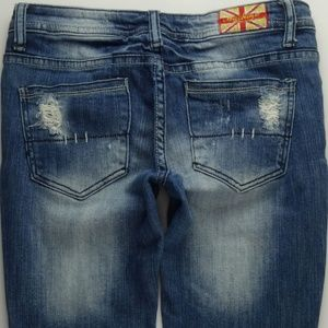 Machine Pour Neuf Mode Skinny Jeans Juniors 3 C276